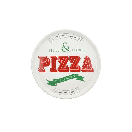 KHG Pizzateller Ø 30 cm ¦ weiß ¦ PorzellanØ: 30