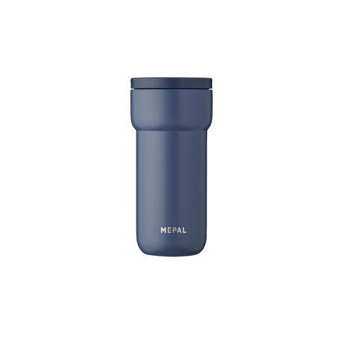 Mepal Thermobecher 375 ml  Ellipse ¦ blau ¦ doppelwandiger Edelstahl,