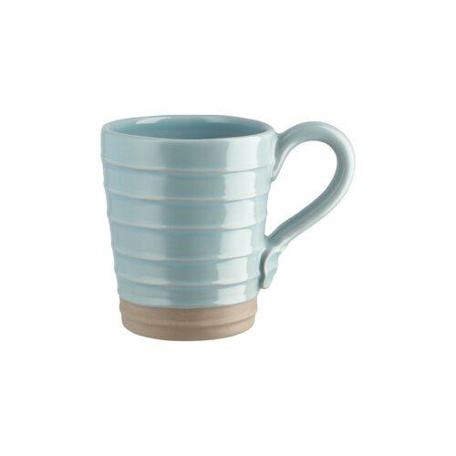 Höffner Tasse ¦ blau ¦ Steinzeug ¦ Maße (cm): B: 13,2 H: 9 T: 10,5