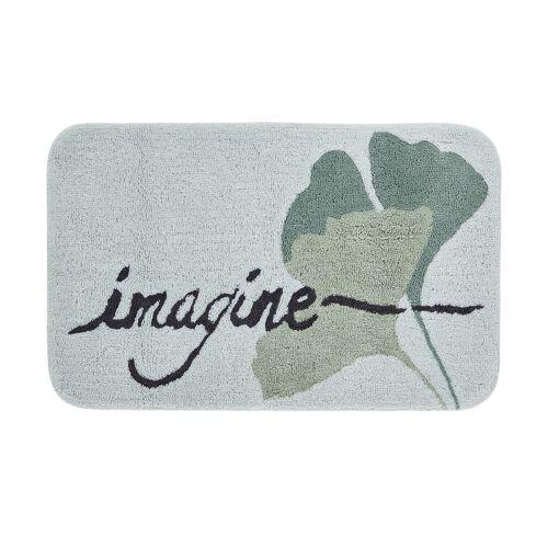 HOME STORY Badteppich  Imagine ¦ grün ¦ reine Baumwolle ¦ Maße (cm):