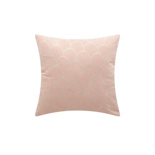 HOME STORY Kissen  Arielle ¦ rosa/pink ¦ 100% Polyesterfüllung ¦ Maße