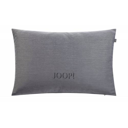 JOOP! Kissen  J-Ornament ¦ grau ¦ 100% Polyester , Polyester