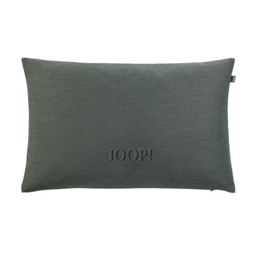 JOOP! Kissen  J-Ornament ¦ grün ¦ 100% Polyester , Polyester