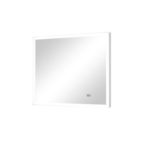 Höffner LED-Badspiegel  Sandsee ¦ Maße (cm): B: 90 H: 70 T: 3