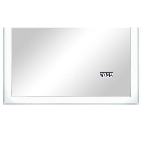 Höffner LED-Badspiegel  Sandsee ¦ Maße (cm): B: 50 H: 70 T: 3
