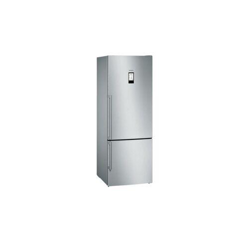 Siemens Kühl-Gefrier-Kombination  KG 56 FPI 40 ¦ silber ¦ Edelstahl,