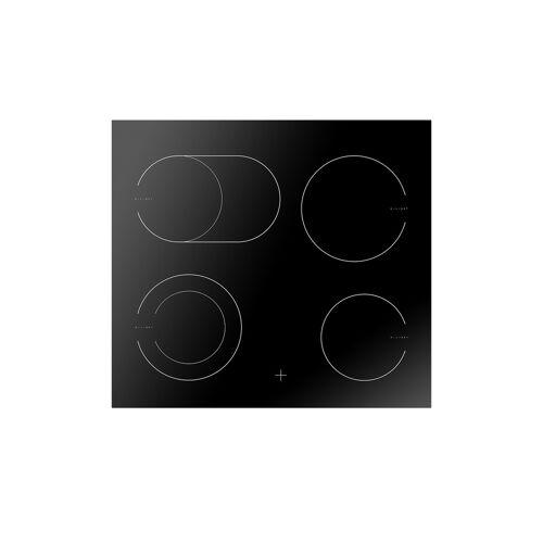 Amica Glaskeramikkochfeld  EC 742 100 C ¦ schwarz ¦ Metall, Glas  ¦ M