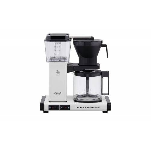 Moccamaster Kaffeautomat  KBG Select Off-white ¦ weiß ¦ Glas , Metall