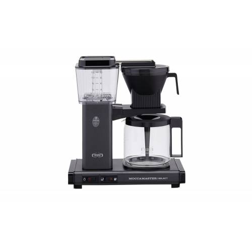 Moccamaster Kaffeautomat  KBG Select Stone Grey ¦ grau ¦ Glas , Metal