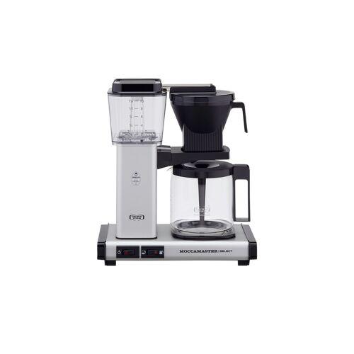 Moccamaster Kaffeautomat  KBG Select Matt Silver ¦ silber ¦ Glas ,