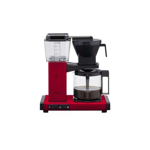 Moccamaster Kaffeautomat  KBG Select Red ¦ rot ¦ Glas , Metall-lackie