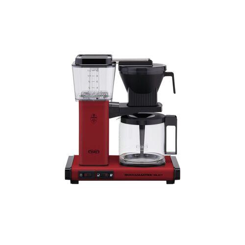 Moccamaster Kaffeautomat  KBG Select Brick Red ¦ rot ¦ Glas , Metall-