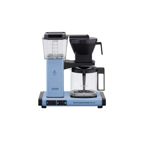 Moccamaster Kaffeautomat  KBG Select Pastel Blue ¦ blau ¦ Glas ,