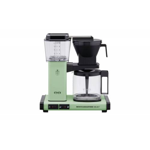 Moccamaster Kaffeautomat  KBG Select Pastel Green ¦ grün ¦ Glas ,
