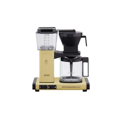 Moccamaster Kaffeautomat  KBG Select Pastel Yellow ¦ gelb ¦ Glas ,