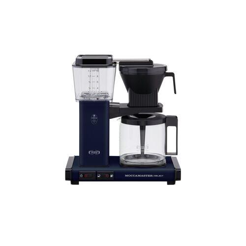 Moccamaster Kaffeautomat  KBG Select Midnight Blue ¦ blau ¦ Glas ,