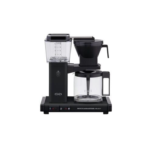 Moccamaster Kaffeautomat  KBG Select Matt Black ¦ schwarz ¦ Glas ,