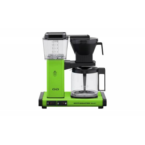 Moccamaster Kaffeautomat  KBG Select Fresh Green ¦ grün ¦ Glas ,