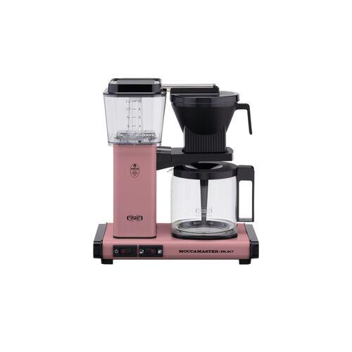 Moccamaster Kaffeautomat  KBG Select Pink ¦ rosa/pink ¦ Glas , Metall