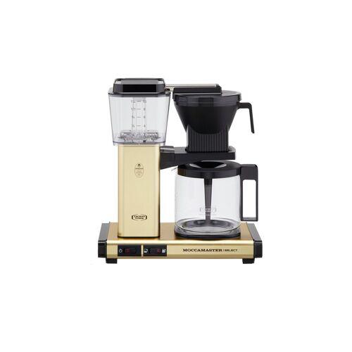 Moccamaster Kaffeautomat  KBG Select Brushed Brass ¦ gold ¦ Glas ,