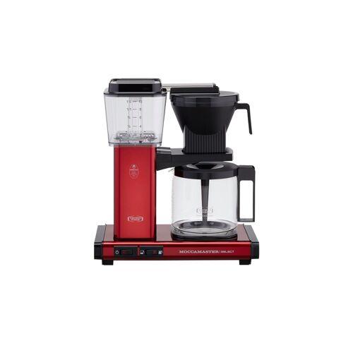 Moccamaster Kaffeautomat  KBG Select Red Metallic ¦ rot ¦ Glas ,
