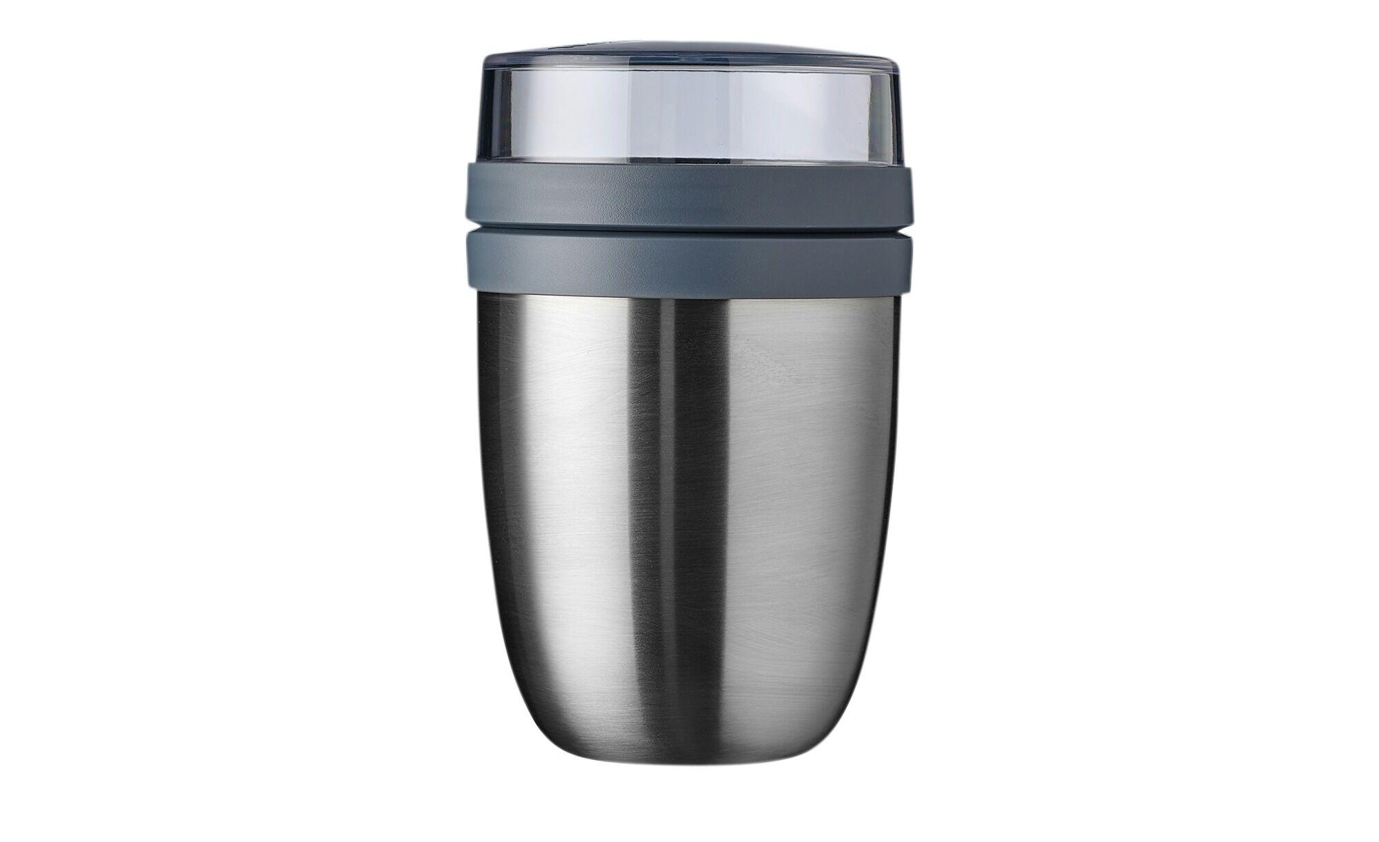 Mepal Thermo Lunch Pot 500+200 ml  Ellipse ¦ Kunststoff, Edelstahl Ø: