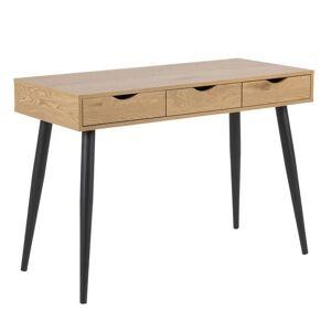 nimarahome.de Neptun - Schreibtisch Holz/Holz