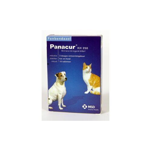 Panacur 250 Entwurmungsmittel für Hund und Katze 100 Stück
