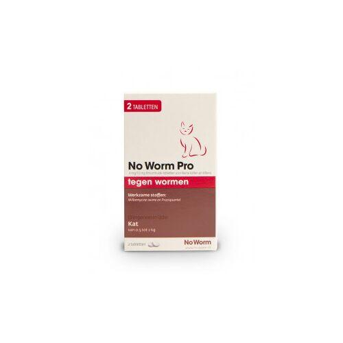 No Worm Pro Kleine Katze & Kätzchen 2 Tabletten