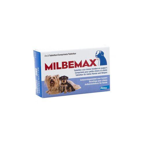 Milbemax Entwurmungstabletten für kleine Hunde und Welpen 16 tabletten