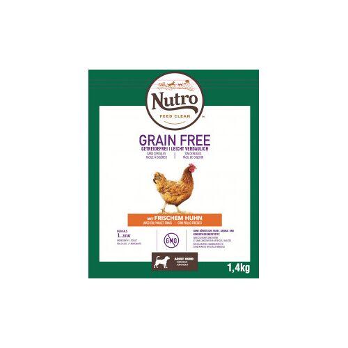Nutro Grain Free Adult Medium Huhn Hundefutter 2 x 1.4 kg