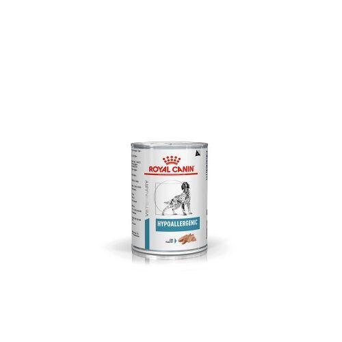 Royal Canin Veterinary Diet Hypoallergenic Hundefutter (Dosen) 12 x 400 gram