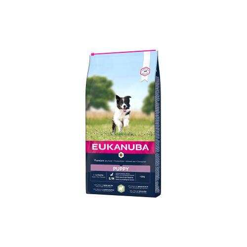 Eukanuba Puppy Small Medium mit Lamm & Reis Hundefutter .2.5 kg