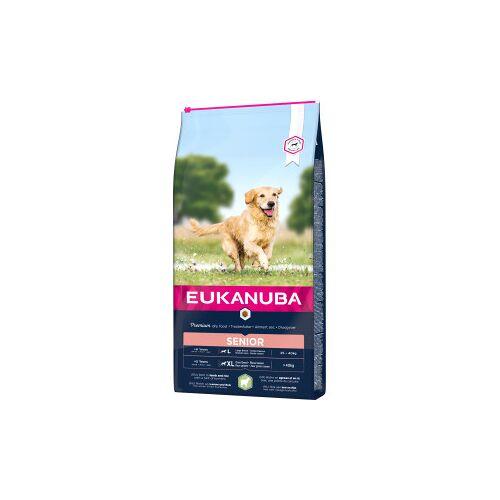 Eukanuba Senior Large mit Lamm & Reis Hundefutter 12 kg