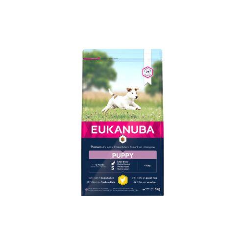 Eukanuba Puppy Small Breed Huhn Hundefutter 2 x 3 kg