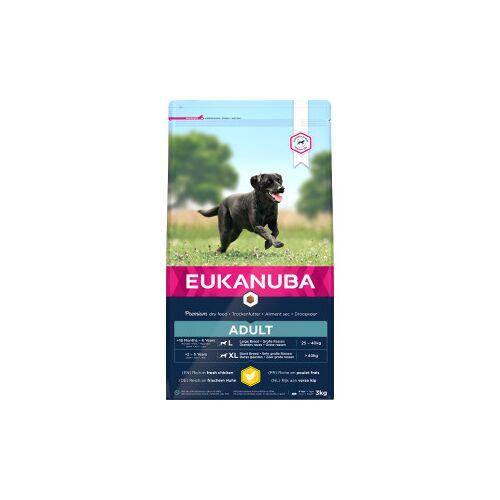 Eukanuba Adult Large Breed Huhn Hundefutter 15 + 3 kg