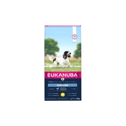 Eukanuba Mature Medium Breed Huhn Hundefutter 15 kg