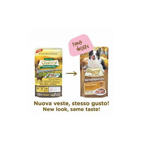Stuzzzy Stuzzy Dog Grain Free Monoprotein Huhn Nass-Hundefutter 150 Gramm 12 x 150 Gramm