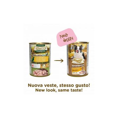 Stuzzzy Stuzzy Monoprotein Huhn nasses Hundefutter 400 gr. 1 Packung ( 6 x 400 gr.)