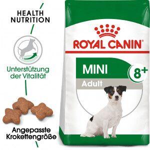 Royal Canin Mini Adult 8+ Hundefutter 8 kg
