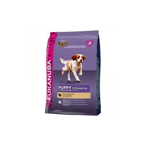Eukanuba Puppy mit viel Lamm & Reis Hundefutter 2 x 12 kg