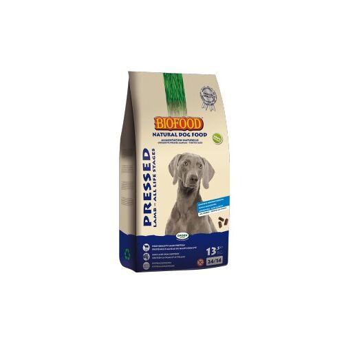Biofood Lamm & Reis - Gepresstes Hundefutter 13.5 kg