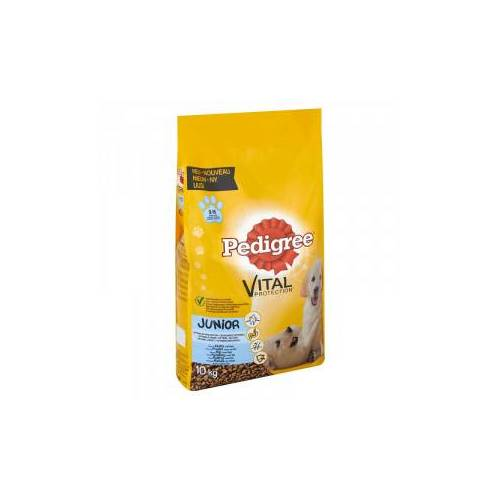 Pedigree Junior Hundefutter 3 x 10 kg