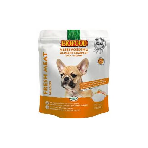 Biofood Hundefutter - Lachs 3 x 630 gram