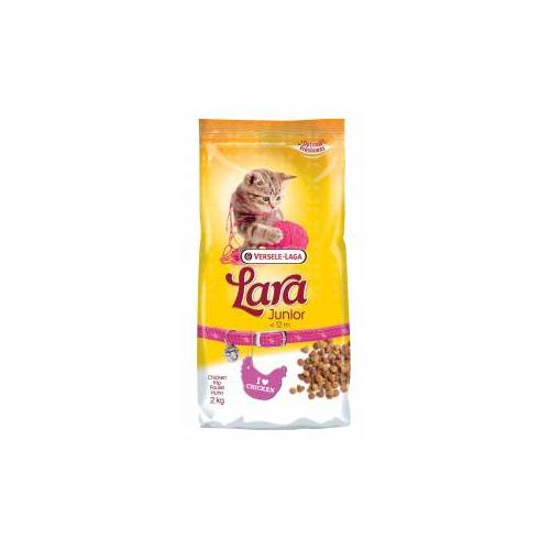 Versele-Laga Lara Junior Huhn Katzenfutter 2 kg