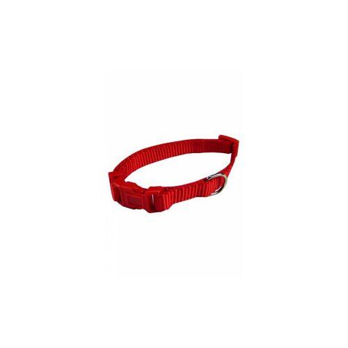 Brekz Nylon Hundehalsband Rot L