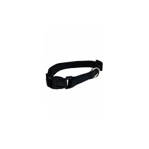 Brekz Nylon Hundehalsband Schwarz XL