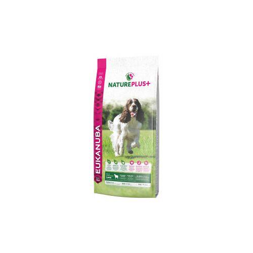 Eukanuba NaturePlus+ Adult Medium Breed Lamm Hundefutter 10 kg AUSVERKAUF