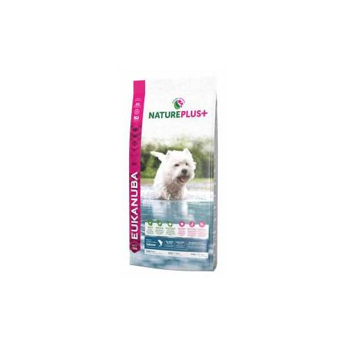 Eukanuba NaturePlus+ Adult Small Breed Lachs Hundefutter 10 kg AUSVERKAUF