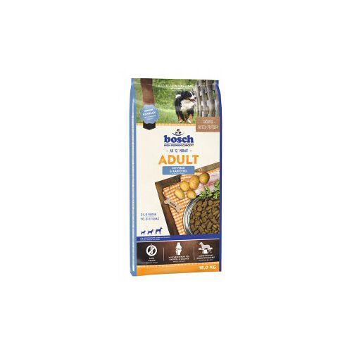 Bosch Adult Fisch & Kartoffel Hundefutter 15 KG  + 3  KG gratis
